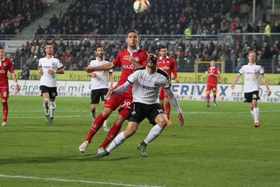 Spiel SV Sandhausen gegen SVS Kaiserslautern