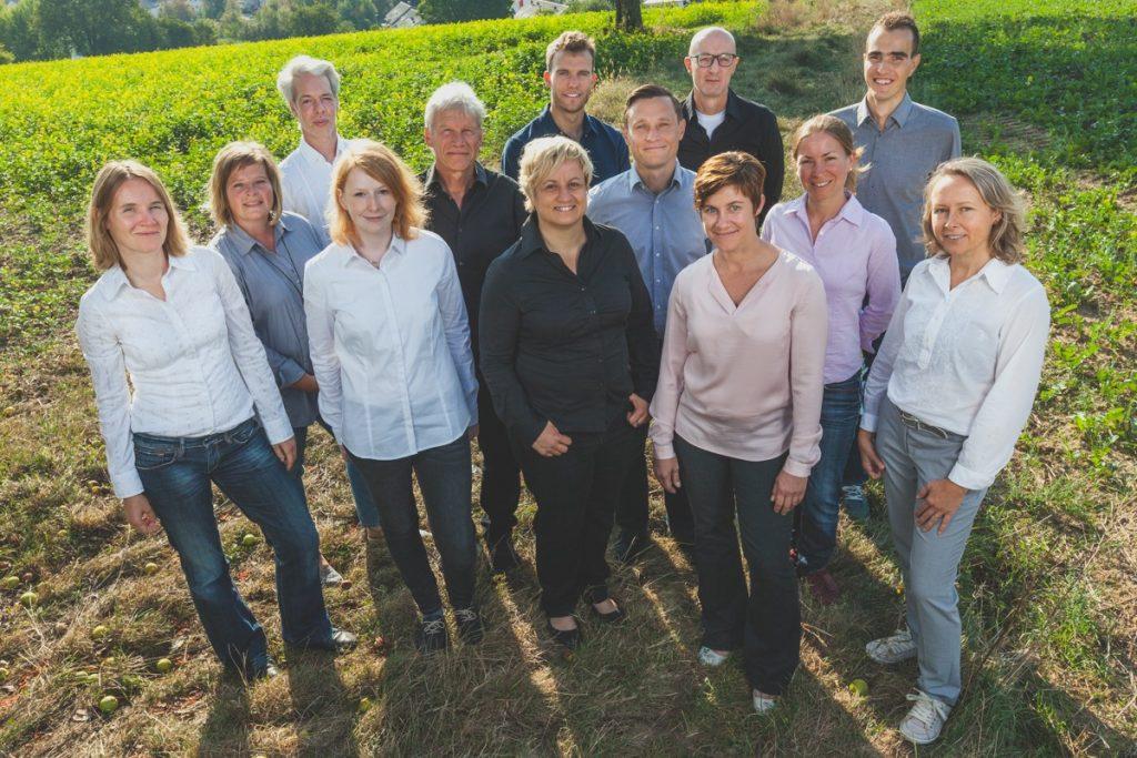 Mitarbeiter der Umwelt- und Energieagentur in Karlsruhe