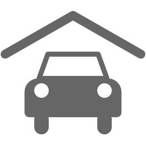 Ikonografische Darstellung überdachte Parkplätze